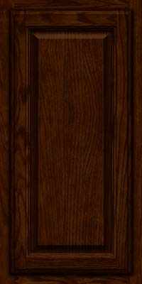 Square Raised Panel - Veneer (BN) Oak in Kaffe - Wall