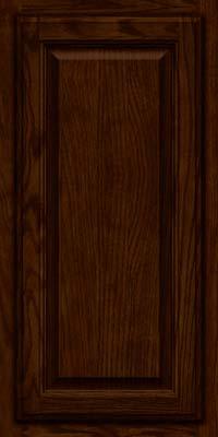 Square Raised Panel - Veneer (BN) Oak in Kaffe - Wall