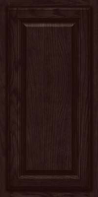 Square Raised Panel - Veneer (BN) Oak in Peppercorn - Wall