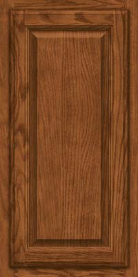 Square Raised Panel - Veneer (BN) Oak in Rye - Wall