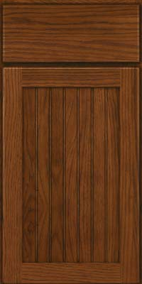 Briarwood Beaded (BWH) Hickory in Cognac - Base