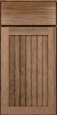 Square Beaded - Solid (BWH) Hickory in Husk - Base