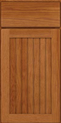 Square Beaded - Solid (BWH) Hickory in Praline - Base