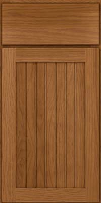 Square Beaded - Solid (BWH) Hickory in Rye - Base