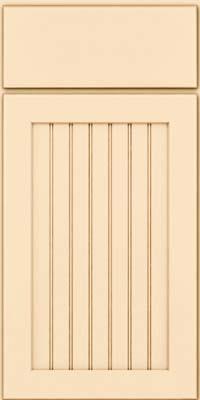 Square Beaded - Solid (BWM) Maple in Biscotti w/Cocoa Glaze - Base