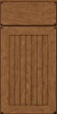 Square Beaded - Solid (BWM) Maple in Burnished Rye - Base