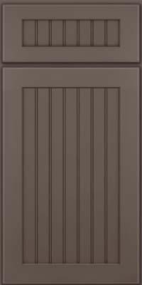 Square Beaded - Solid (BWM) Maple in Greyloft w/ Sable Glaze - Base