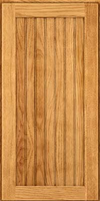 Square Beaded - Solid (BWH) Hickory in Honey Spice - Wall