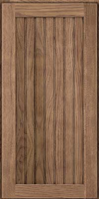 Square Beaded - Solid (BWH) Hickory in Husk - Wall