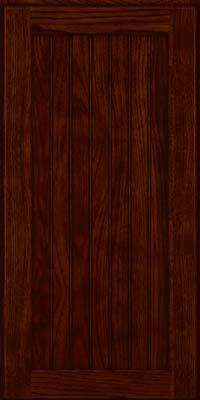 Square Beaded - Solid (BWH) Hickory in Kaffe - Wall