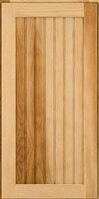 Square Beaded - Solid (BWH) Hickory in Natural - Wall