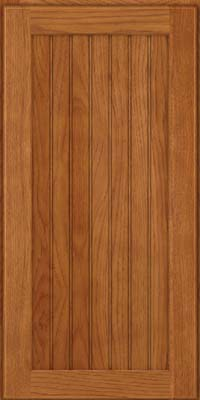 Square Beaded - Solid (BWH) Hickory in Praline - Wall