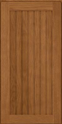 Square Beaded - Solid (BWH) Hickory in Rye - Wall