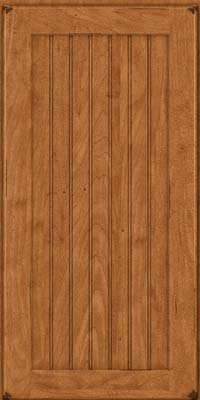 Square Beaded - Solid (BWM) Maple in Burnished Praline - Wall