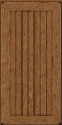 Square Beaded - Solid (BWM) Maple in Burnished Rye - Wall