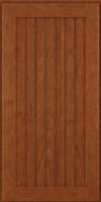 Square Beaded - Solid (BWM) Maple in Chestnut - Wall