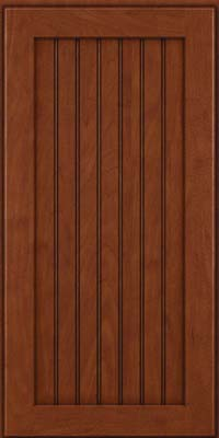 Briarwood Beaded (BWM) Maple in Chestnut w/Onyx Glaze - Wall