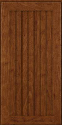 Square Beaded - Solid (BWM) Maple in Cognac - Wall