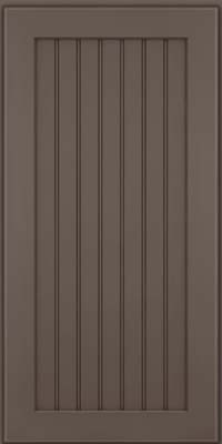Square Beaded - Solid (BWM) Maple in Greyloft w/ Sable Glaze - Wall