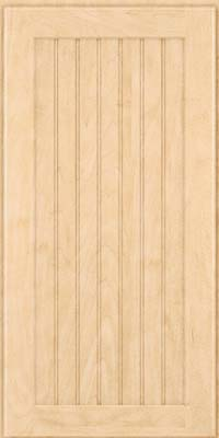 Square Beaded - Solid (BWM) Maple in Natural - Wall