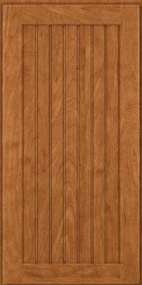 Square Beaded - Solid (BWM) Maple in Praline - Wall