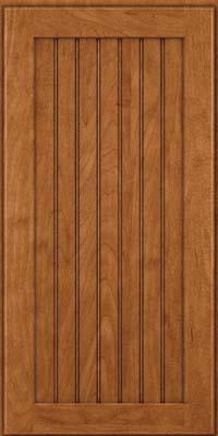 Square Beaded - Solid (BWM) Maple in Praline w/Onyx Glaze - Wall