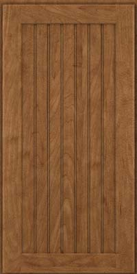 Square Beaded - Solid (BWM) Maple in Rye - Wall
