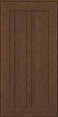Square Beaded - Solid (BWM) Maple in Saddle Suede - Wall