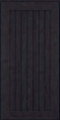 Square Beaded - Solid (BWM) Maple in Slate - Wall