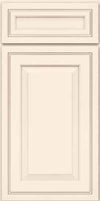 Square Raised Panel - Solid (CRM) Maple in Canvas - Base