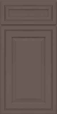 Square Raised Panel - Solid (CRM) Maple in Greyloft - Base