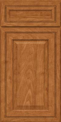 Square Raised Panel - Solid (CRM) Maple in Praline - Base