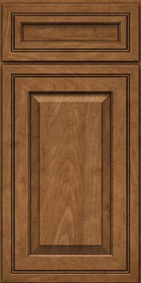 Square Raised Panel - Solid (CRM) Maple in Rye - Base