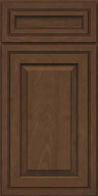 Square Raised Panel - Solid (CRM) Maple in Saddle - Base