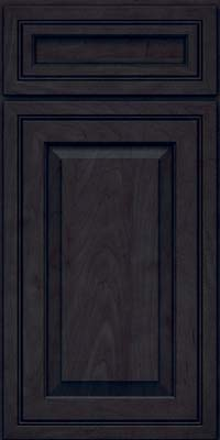 Square Raised Panel - Solid (CRM) Maple in Slate - Base