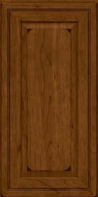 Square Raised Panel - Solid (CRC) Cherry in Burnished Ginger - Wall