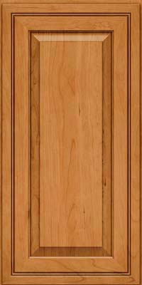Square Raised Panel - Solid (CRC) Cherry in Natural - Wall