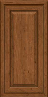 Square Raised Panel - Solid (CRC) Cherry in Rye - Wall