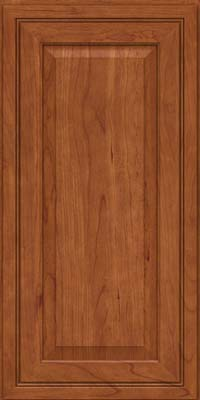 Square Raised Panel - Solid (CRC) Cherry in Sunset - Wall