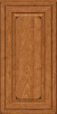 Square Raised Panel - Solid (CRM) Maple in Burnished Praline - Wall