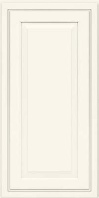 Carrington Miter (CRM) Maple in Dove White - Wall