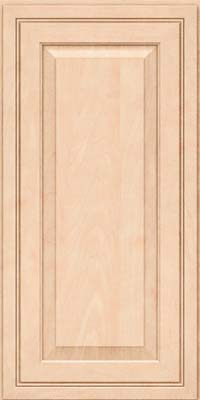 Square Raised Panel - Solid (CRM) Maple in Parchment - Wall