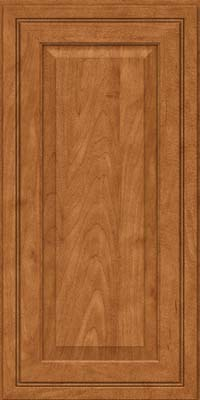 Square Raised Panel - Solid (CRM) Maple in Praline - Wall
