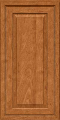 Square Raised Panel - Solid (CRM) Maple in Praline w/Mocha Highlight - Wall
