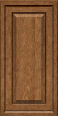Square Raised Panel - Solid (CRM) Maple in Rye - Wall