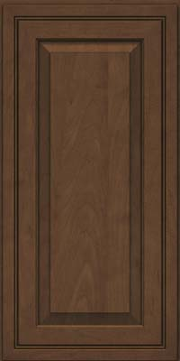 Square Raised Panel - Solid (CRM) Maple in Saddle - Wall