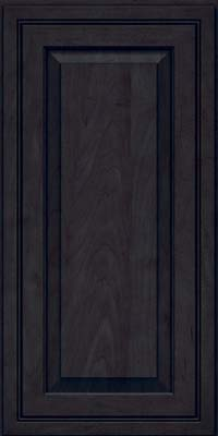 Square Raised Panel - Solid (CRM) Maple in Slate - Wall