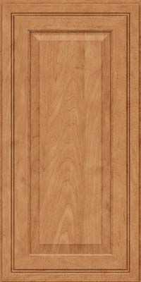 Square Raised Panel - Solid (CRM) Maple in Toffee - Wall