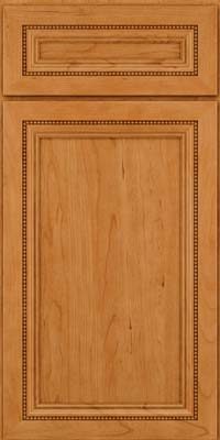 Square Recessed Panel - Veneer (CTC) Cherry in Natural - Base