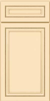 Square Recessed Panel - Veneer (CTM) Maple in Biscotti - Base